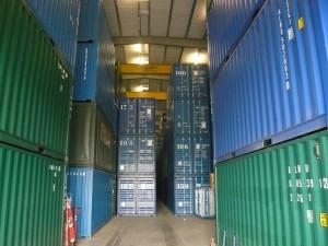 Beveiligde en verwarmde opslag en warehousing bij Mondial Oostland Verhuizingen voor beveiligde opslag van uw goederen en archieven
