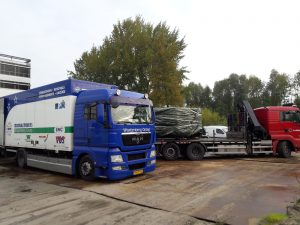 Projectverhuizing Technische Dienst Rijksuniversiteit Groningen (RUG) naar tijdelijke huisvesting