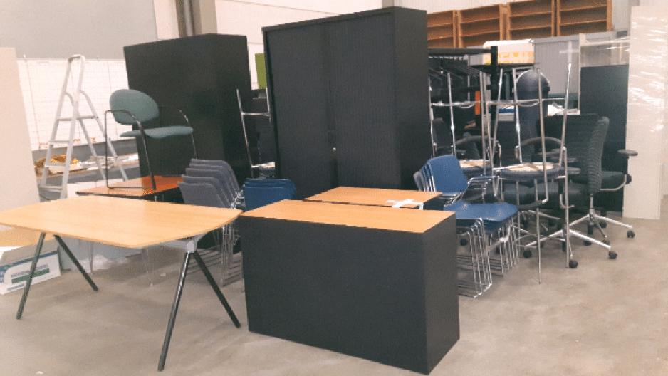 Mondial Oostland Verhuizingen verzorgt tijdelijke meubelopslag voor Midden Groningse Uitdaging