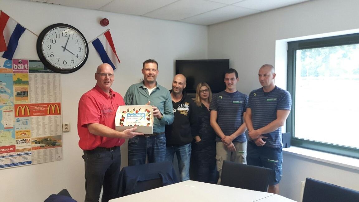 Jan-Smit-25-jaar-in-dienst-bij-Mondial-Oostland-Verhuizingen