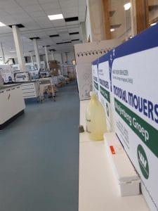 Mondial Oostland Verhuizingen verzorgt verhuizing Laboratoria Avebe in Groningen
